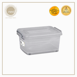 NEST DESIGN LAB Premium Stackable Storage Box w/ Wheels 52L