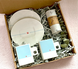 Loveramics Baby Blue Espresso Cup set with Tablea