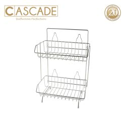 Cascade 2-Layer Shower Caddy 5Kg