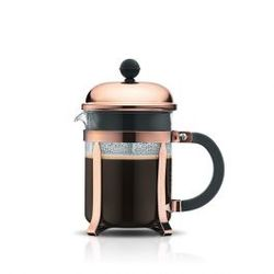 Bodum CHAMBORD COFFEE MAKER 4cup, 0.5L 17oz COPPER/1924-18