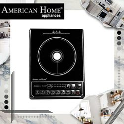 American Home AIC-3600B Induction Cooker With Free Pot
