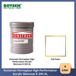Konstrukt Permaplast High-Performance Acrylic Skimcoat K-201-4L