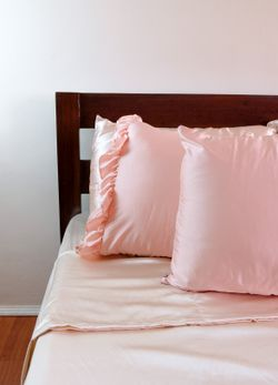"""Pure 19mm Mulberry Silk Pillowcase (Pair of Queen Size 20x30"""")"""