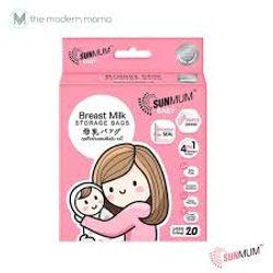 SUNMUM Breast Milk Storage Bags 8oz  20pcs