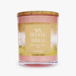 Happy Island Oriental Vanilla Soy Candle 10oz