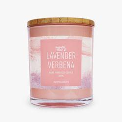 Happy Island Lavender Verbena Soy Candle 10oz