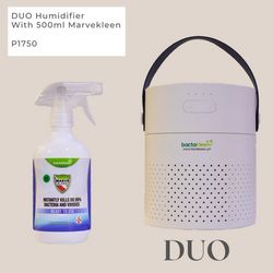 Duo Humidifier with 500ml Marvekleen