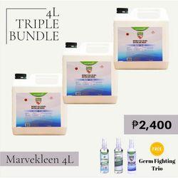 Birthday Sale Marvekleen 4L Triple Bundle