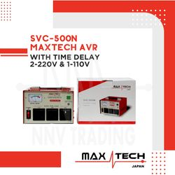 MAXTECH AVR 500W Automatic Voltage Regulator with time delay (SVC-500N)