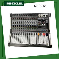 MICKLE MK-GL12 12 Channel ULTRA slim mixer 16  99 DSP effects