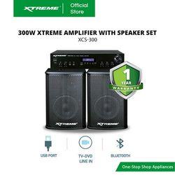 XTREME 300W Amplifier with Speaker Set (XCS-300)