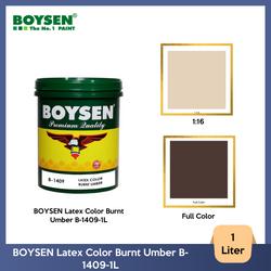 BOYSEN Latex Color Burnt Umber B-1409-1L