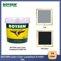 BOYSEN Latex Color Lampblack B-1490-1/4L