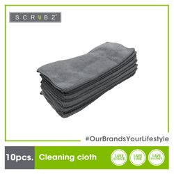 SCRUBZ Premium Cleaning Cloth set of 10