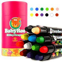 Joan Miro Silky Washable Crayon-Baby Roo 12 Colors