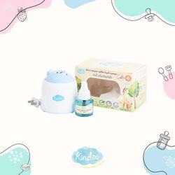 Kindee Electric Mosquito Repellent Liquid Vaporizer with 1 Bottle Organic Liquid Drop (Newborn & up)
