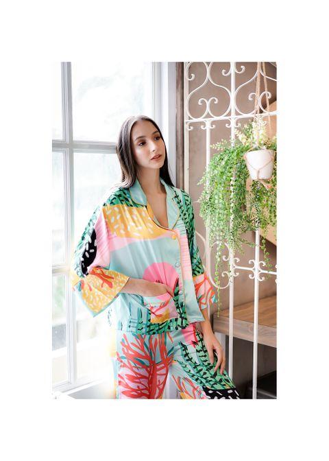 Intissimo Alana Silk Long Pyjama