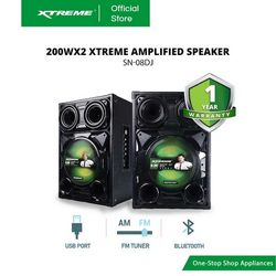 XTREME 200Wx2 Amplified Speaker (SN-08DJ)