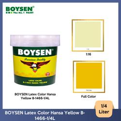 BOYSEN Latex Color Hansa Yellow B-1466-1/4L