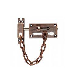 Door Chain with Bolt (Antique Brass)