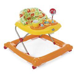 Chicco JVI Circus Baby Walker - Orange Wave