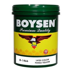 BOYSEN Latex Color Hansa Yellow B-1466-1L