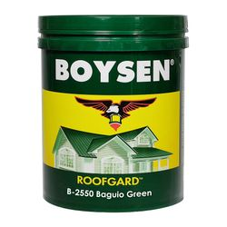 BOYSEN Roofgard Baguio Green B-2550-4L