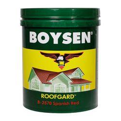 BOYSEN Roofgard Spanish Red B-2570-4L