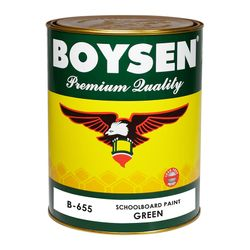 BOYSEN Schoolboard Paint Green B-655-1L