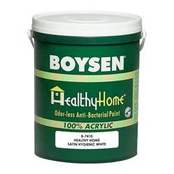 BOYSEN Healthy Home Satin Hygienic White B-7410-4L