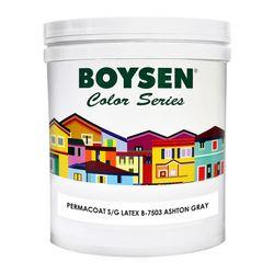 BOYSEN Permacoat Semi-Gloss Latex Ashton Gray B-7503-1L