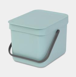 Brabantia Waste Bin Sort&Go - 6L - Mint