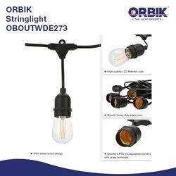 ORBIK Connectable String Light OBOUTWDE27