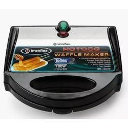 Imarflex ISM-300HW Hotdog Waffle Maker Stainless