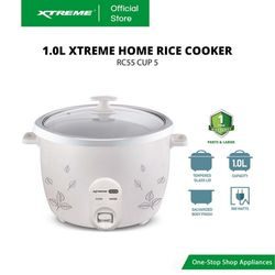 XTREME HOME 1.0L Rice Cooker (RC55 CUP 5)