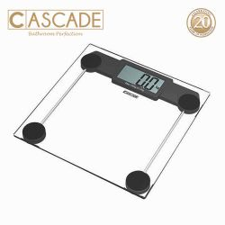 Cascade Square Automatic Digital Bathroom Scale