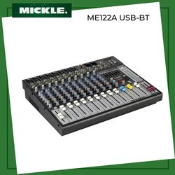 MICKLE ME 122A/BT Professional Mixing Console