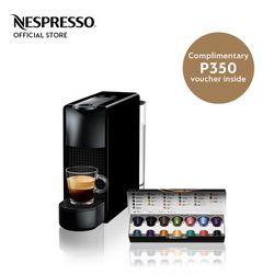 Nespresso® Essenza Mini Black with Complimentary Welcome Coffee Set