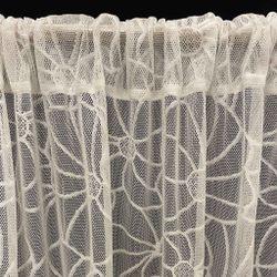 ARQ Curtains SHIR Rustice White 96' Curtain
