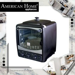 American Home AEO-18RT Electric Oven w/ Rotisserie 18L