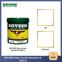 BOYSEN Clear Acrylic Emulsion B-700-1L