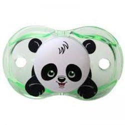 Tickled Babies Razbaby Keep-It-Klean Pacifier -Panky Panda