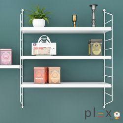 Plex 3-Level Shelving System