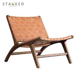Skadi Leather Chair (Brown)