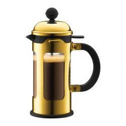 Bodum CHAMBORD FRENCH PRESS COFFEE MAKER,3cup,0.35L,12oz,S/S GOLD