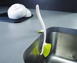 Joseph Joseph Edge Dish Brush with Integrated Sink Rest 85026/85025