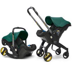 Doona Infant Car Seat/Stroller - Racing Green