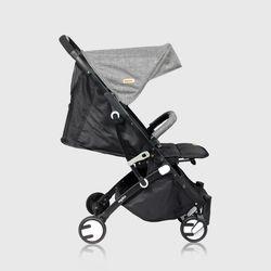 Looping Squizz 3 Stroller Grey - Black Frame