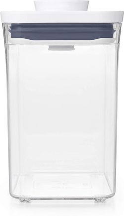 Tickled Babies Oxo Pop Container Rectangle  Short 1.7 Qt