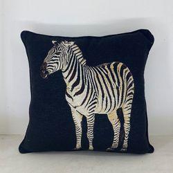 ARQ Curtains Zebra 18x18 Safari Collections Pillowcase